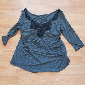 EUC Olian 3/4 Sleeve Top